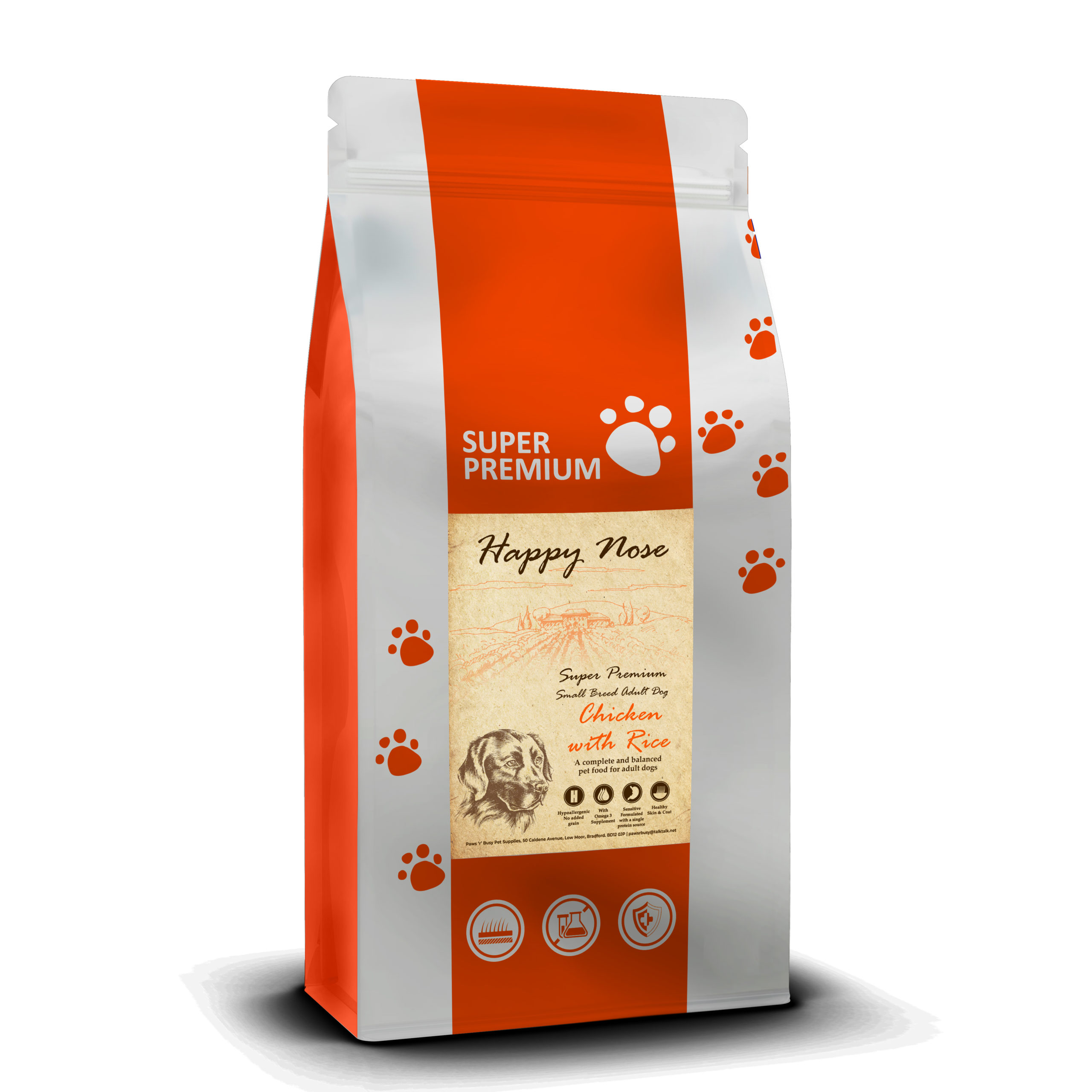 Chicken & Rice Small Breed Dog Food