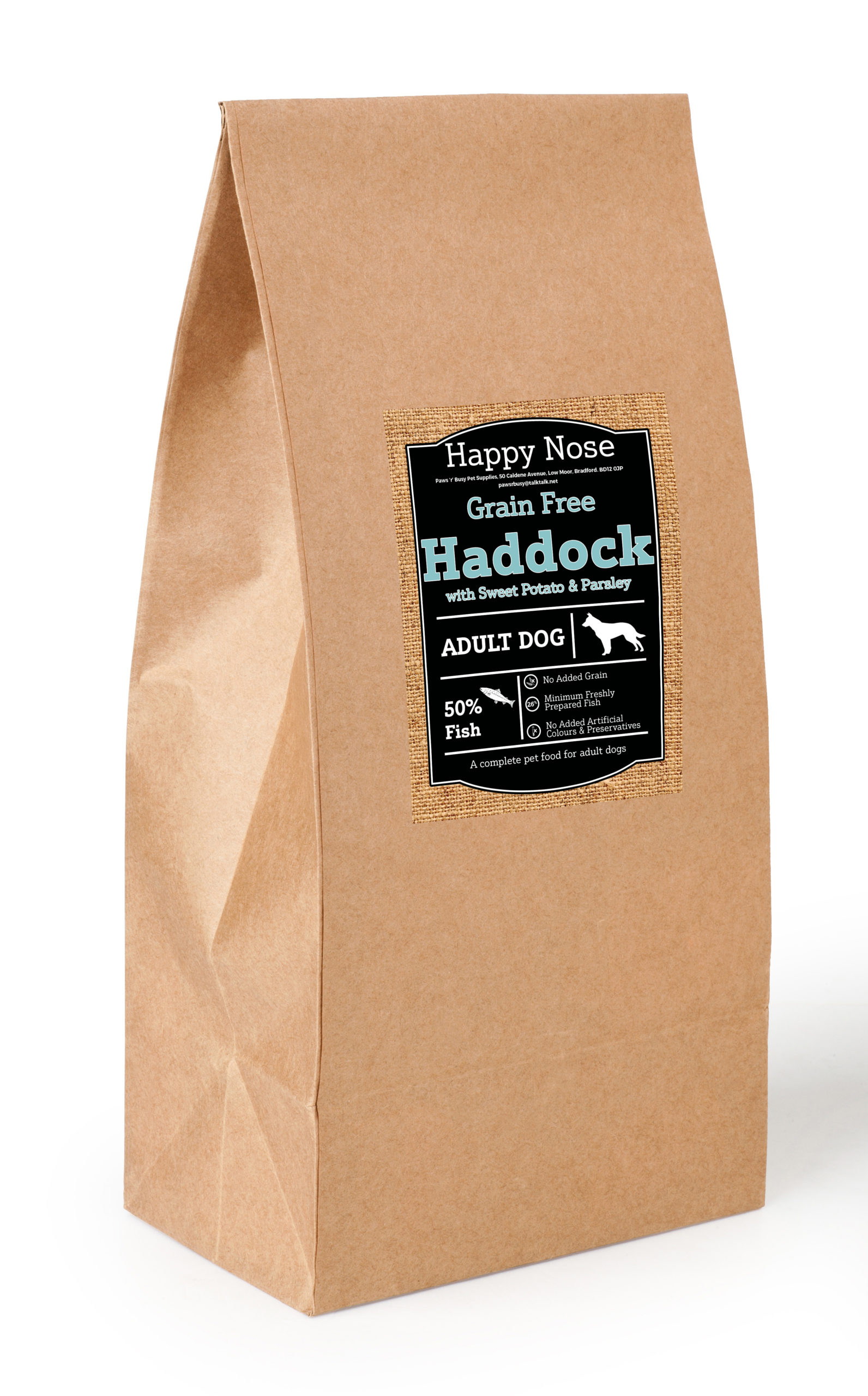 Haddock, Sweet Potato & Parsley Adult Dog Food