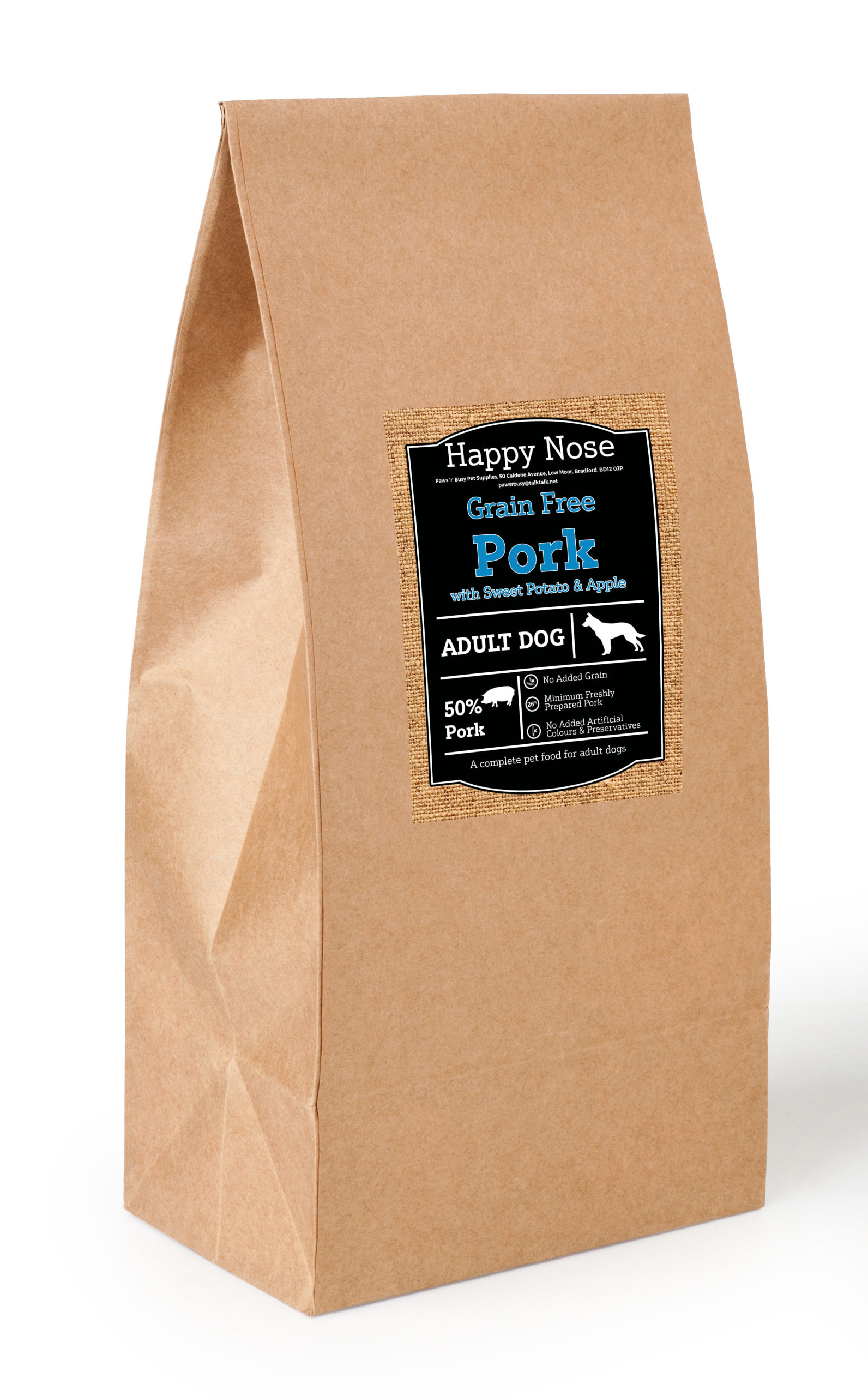 Pork, Sweet Potato & Apple Adult Dog Food