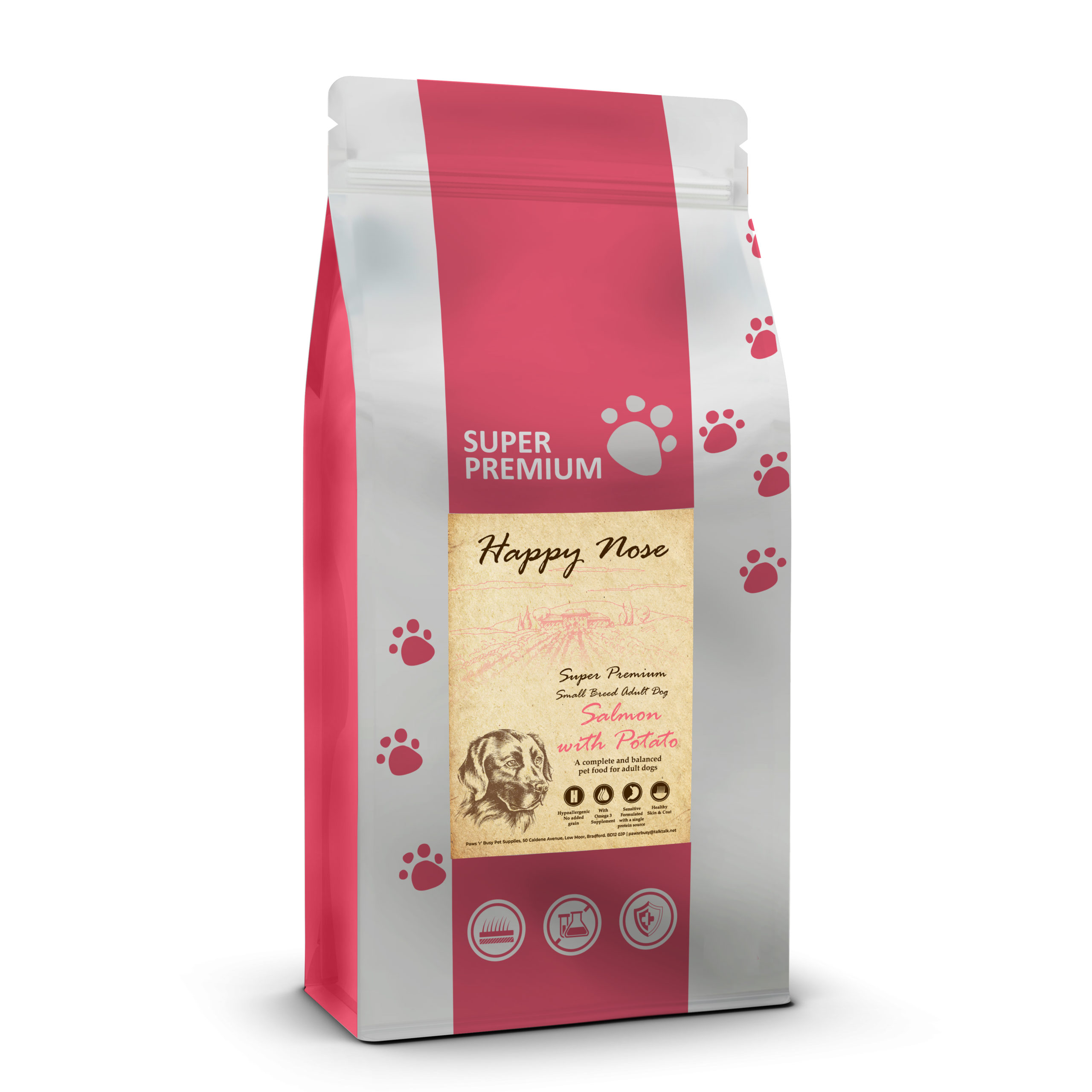 Salmon & Potato Adult Small Breed Dog Food
