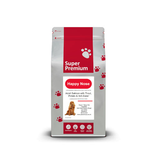 Salmon,Trout & Potato Adult Dog Food With Itch-Eeze