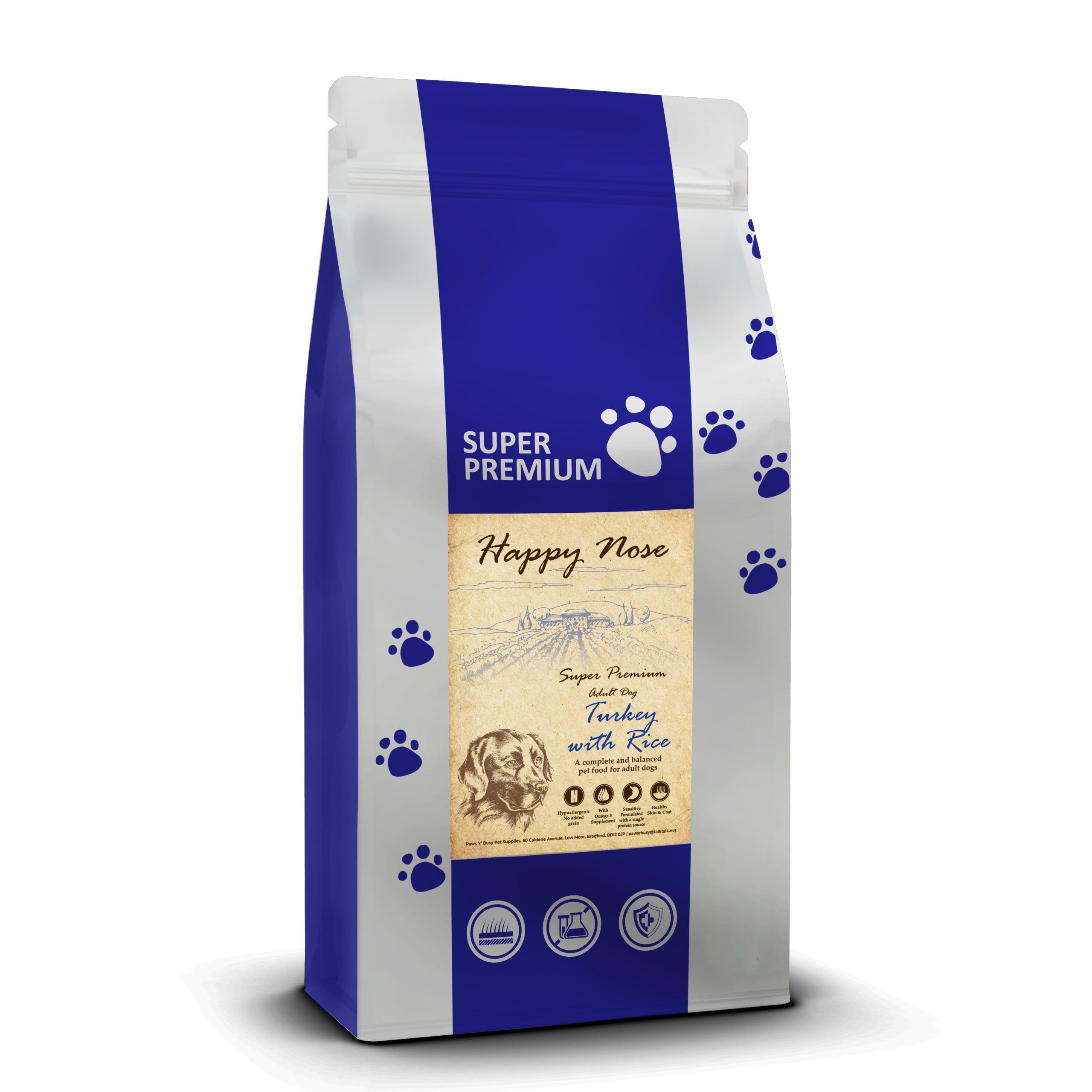 Turkey & Rice Adult Dog Food