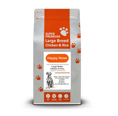 Chicken & Rice Large Breed Adult Dog Food