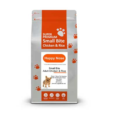 Chicken & Rice Small Bite Dog Food