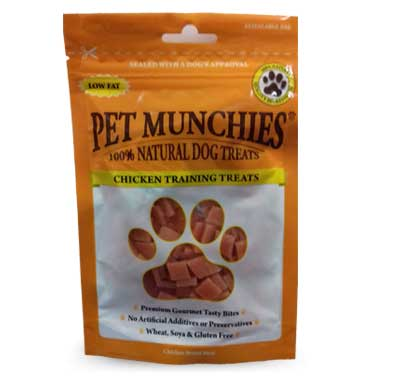 Pet Munchies Chicken Training Treats – 50g