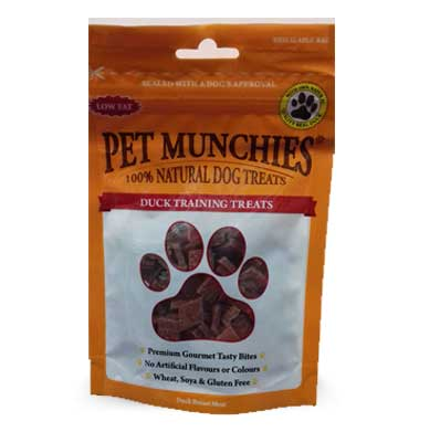 Pet Munchies Duck Training Treats – 50g