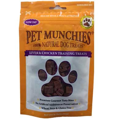 Pet Munchies Liver & Chicken Training Treats – 50g