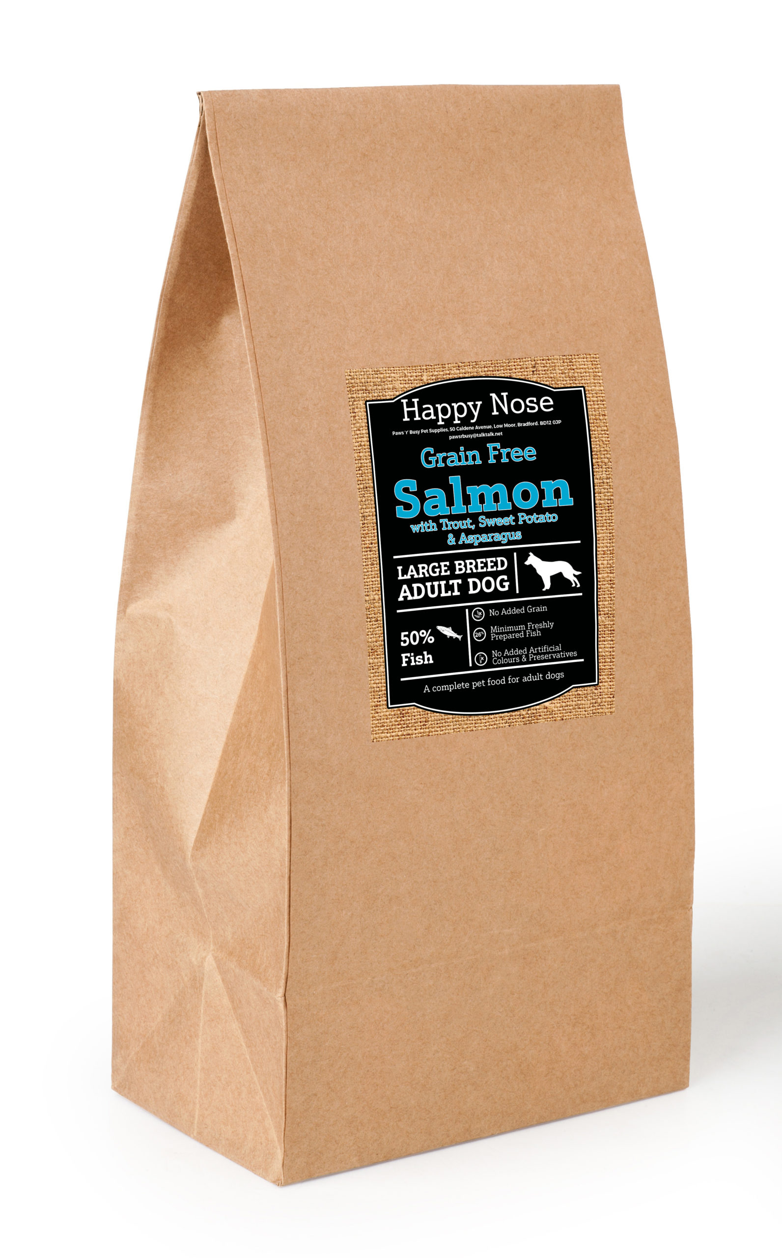 Large Breed Salmon,Trout,SP & Asparagus Adult Dog Food