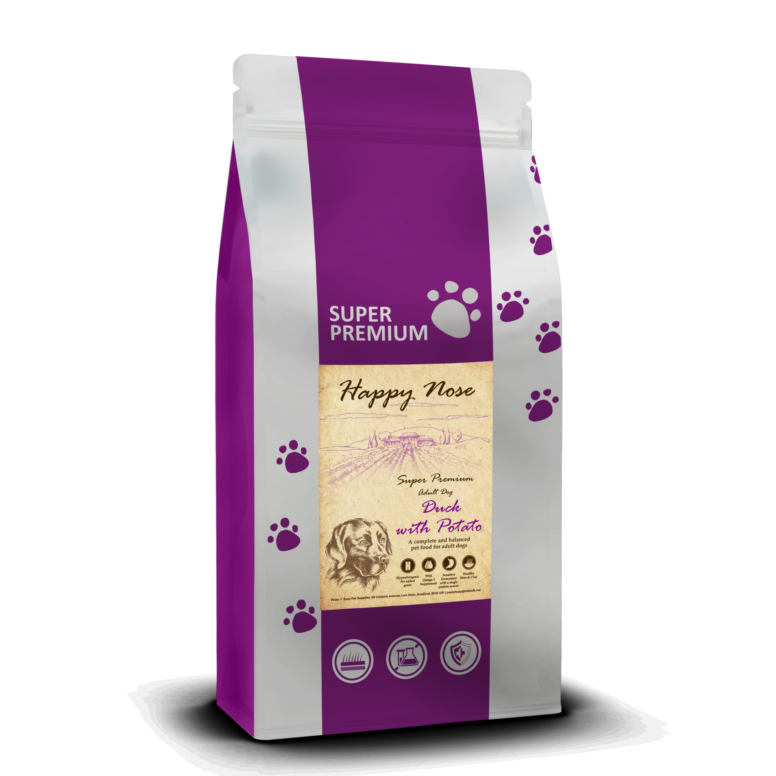 Super Premium Complete And Working Dog Food